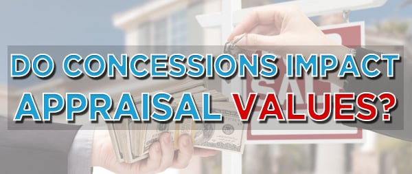 sales concessions influence appraisal